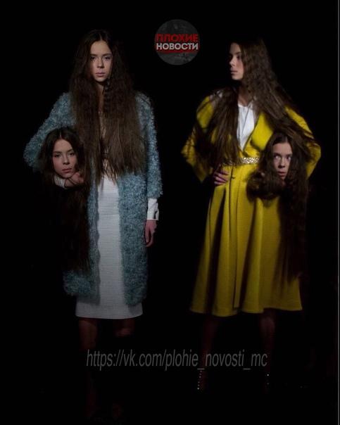 14-летние модели-близняшки довели себя до анорексии Девочки начали худеть после того, как в модельном