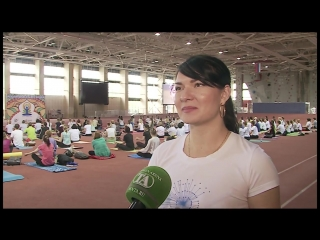 АСН - день йоги в Тюмени