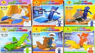 Игрушки Герои в масках 2 Новая Серия #Лего человечки видео #Кэтбой #Алет #Геко