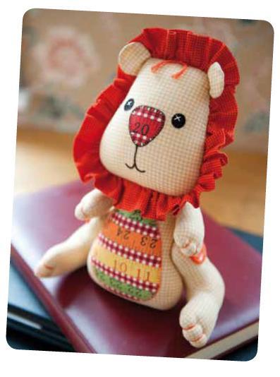 Мягкая игрушка львёнок (4 фото) - картинка