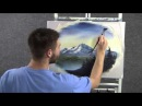Paint with Kevin Hill - Unedited Soft Mountain Oval wet on wet HD