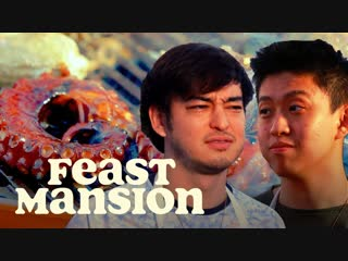 Joji and rich brian grill exotic meats for a house party - feast mansion