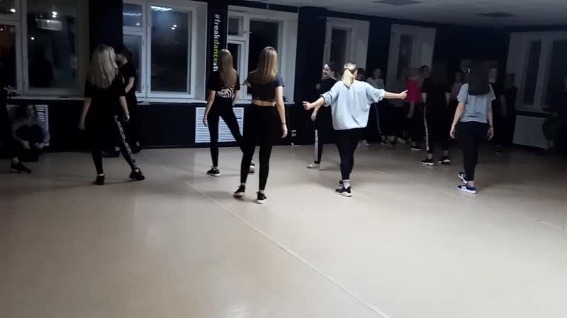 Freak Dance studio JAZZ FUNK PRO_ Группа Анастасии Лариной