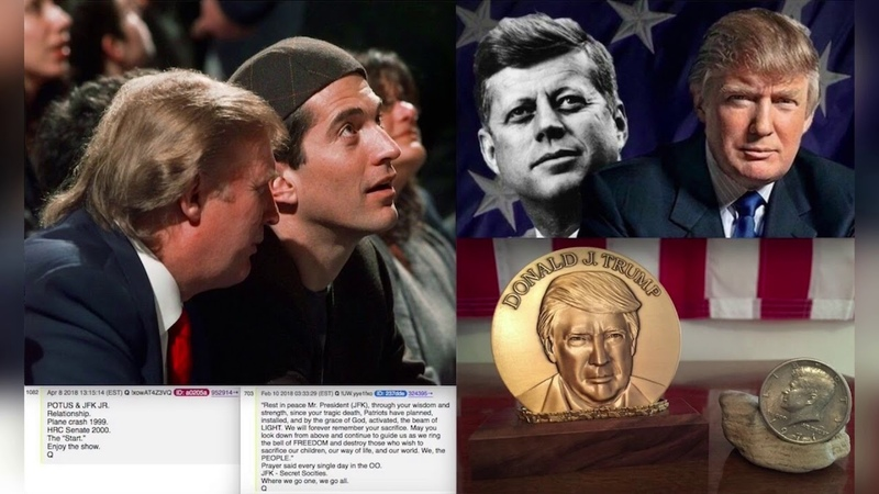 JFK jr. is Q @JennyHatch QAnon