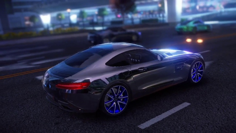 Asphalt 9: Legends / Weekly Competition 3 / Mercedes-Benz AMG GT S / 02.38.0xx (1%)