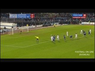 Шинник — Спартак 0:1, Кубок России 30 октября 2013