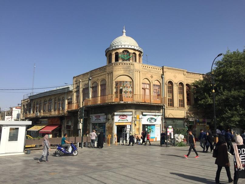 Иран 4. Рынок Хамедана