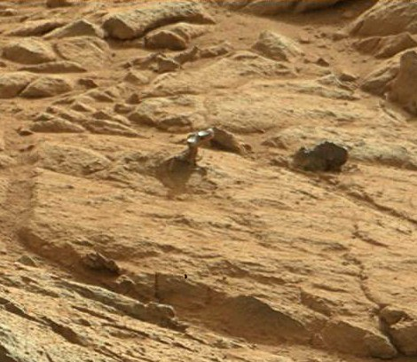Фото артефакту з Марсу