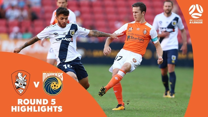 Hyundai A-League 201718 Round 5 Brisbane Roar 0 - 0 Central Coast Mariners
