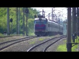 ЧС4-185 (КВР) с поездом 66 Кишинёв - Москва