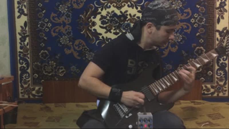 обзор гитарной педали V3 Metal distortion