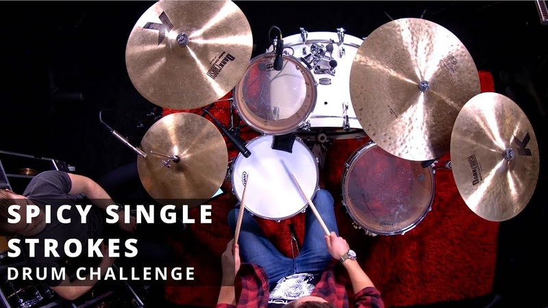 6 Spicy Single Strokes | Drum Lesson | Hand Speed