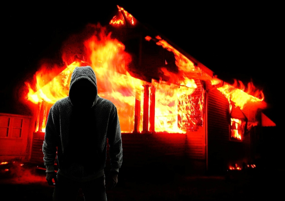 В Таганроге полицейские задержали 18-летнего вора-поджигателя