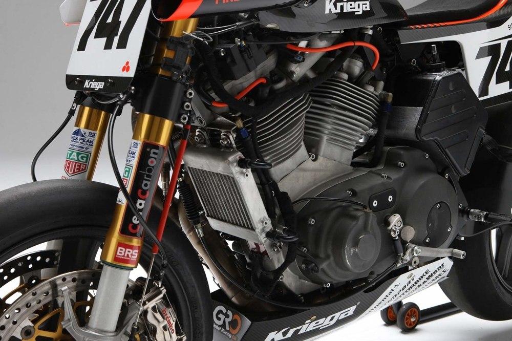 Гоночный мотоцикл BOTT XR1R Pikes Peak 2017