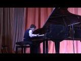 I.S.Bach, Little Prelude in E Minor, BMW938, J.A.Benda, Sonatina - by autist Andrey Filonov, 10 y.o.