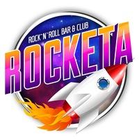 Логотип ROCKETA / Underground Rock n Roll Bar & Club