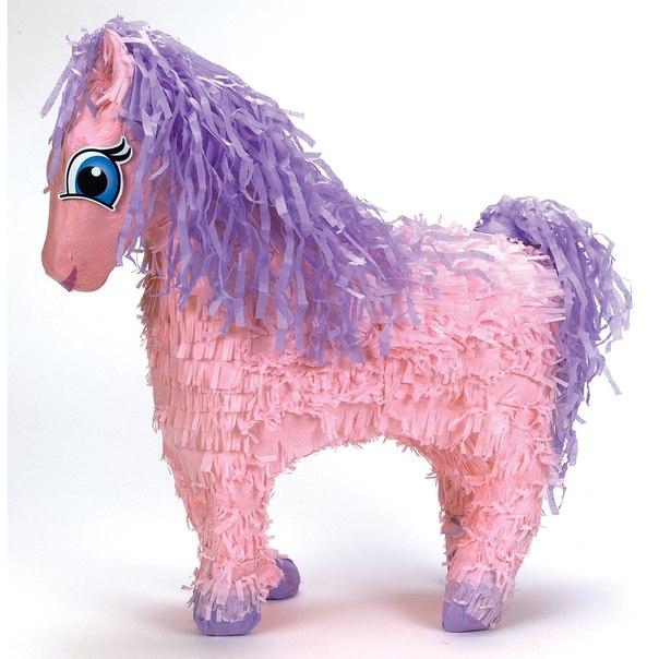 Как сделать пиньяту пони