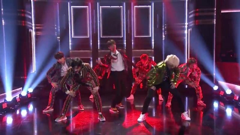 180925 BTS - IDOL @ The Tonight Show Starring Jimmy Fallon