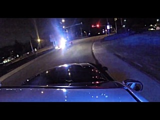 GoPro on a cop car! Police chase!!