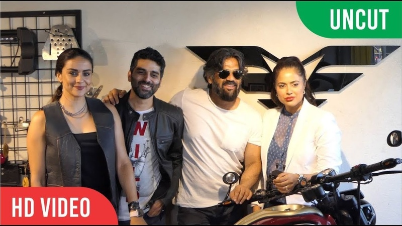 "Many B-Town Stars At Sameera Reddy's ""Vardenchi First Lifestyle Garage"