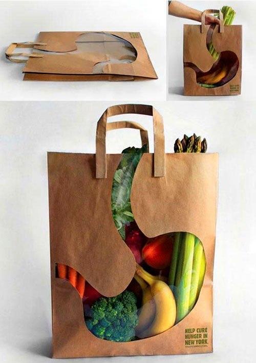 Пакеты для продуктов.