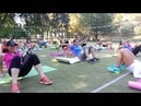 Workout (тренировка в парке) 03.08.2014