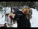 Отшельница Агафья в родной тайге