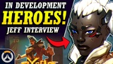 Overwatch - CONFIRMED NEW HERO, New PvP Mode, & MORE! (Jeff Kaplan Interview for Storm Rising)