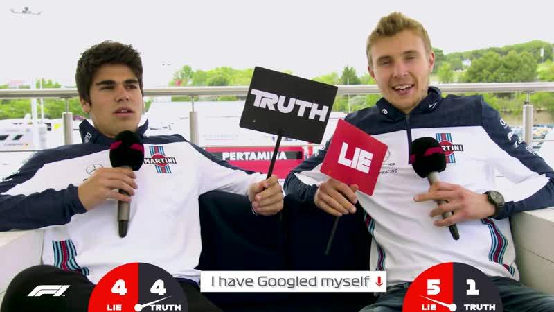Lance Stroll Truth or Lie