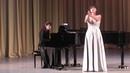 Ксения Григорьева XI Международный конкурс молодых оперных певцов Тихвин 2018