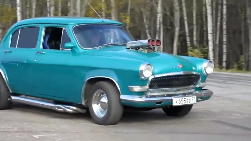 Крутая Волга ГАЗ-21 с мотором V8