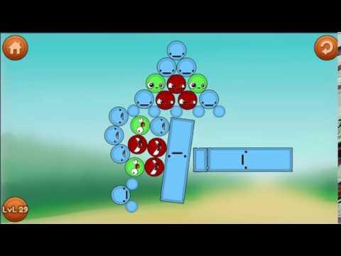 Игра Удалить Красный БЛОК ♦️ Remove Red Block Cartoon Game 4 Мультик