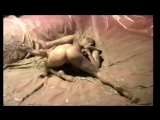 The Womens Oil Wrestling Federation Sunshine vs Cleopatra in Mud