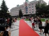 Звезды на красной дорожке в Нижнем Новгороде