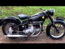 Мотоцикл Sunbeam S8 500cc, 1951 года