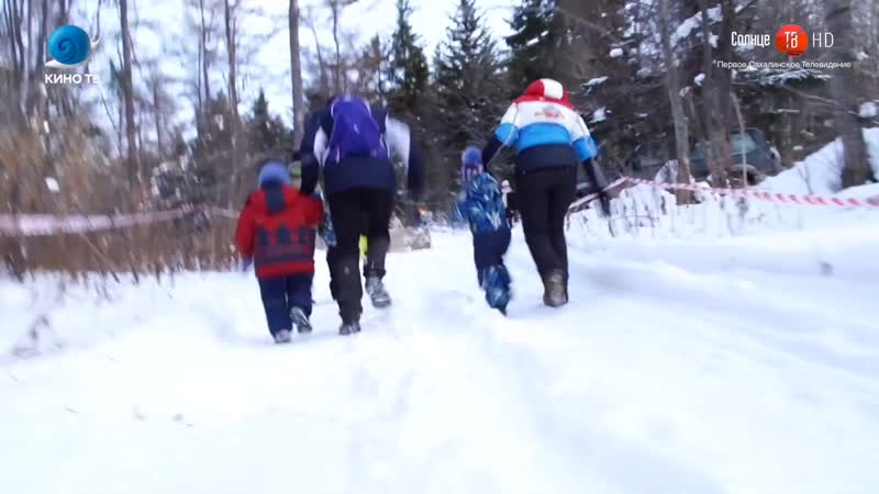 Сюжет Солнце ТВ о зимней детской гонке с препятствиями Pride Race Winter