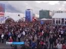 Арена на острове Октябрьский приняла второй матч Чемпионата мира по футболу