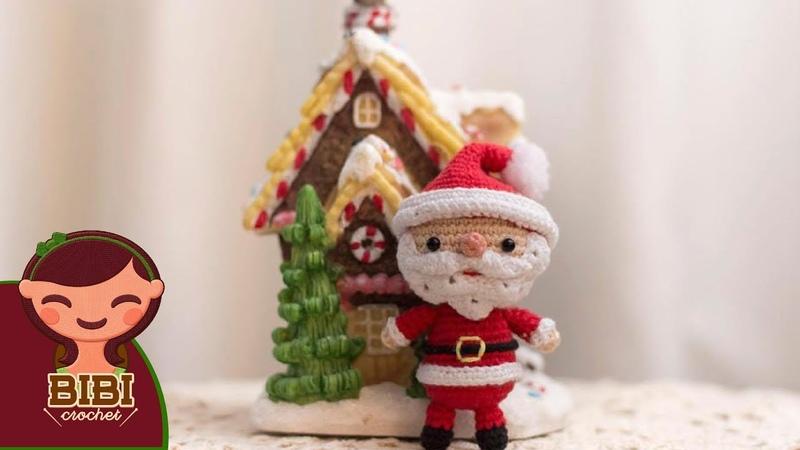 Amigurumi | como hacer a papa noel en crochet | Bibi Crochet