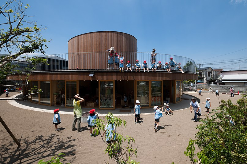 Tezuka Architects' circular building is both a kindergarten and chapel