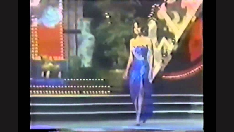 Halle Berry in Miss World 1986 [Highlights]