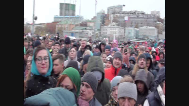 День Народного Единства 4.11.18 ч.3 Владивосток Дмитриев Дмитрий