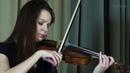Sofya Loos - J. S Bach. Violin Partita in E major - TroyAnna