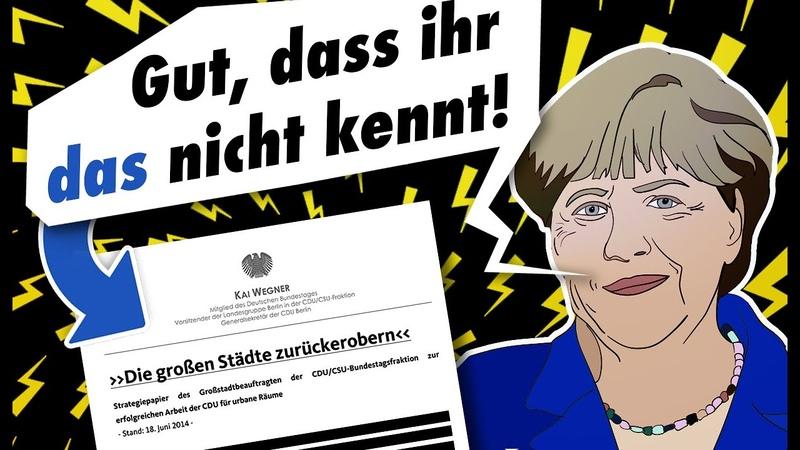 AUFWACHEN CDU Wähler! - Das Dokument des Verrats