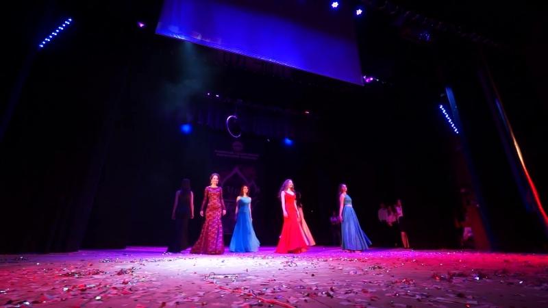 Мисс АГПУ-2017. Дефиле в вечерних платьях
