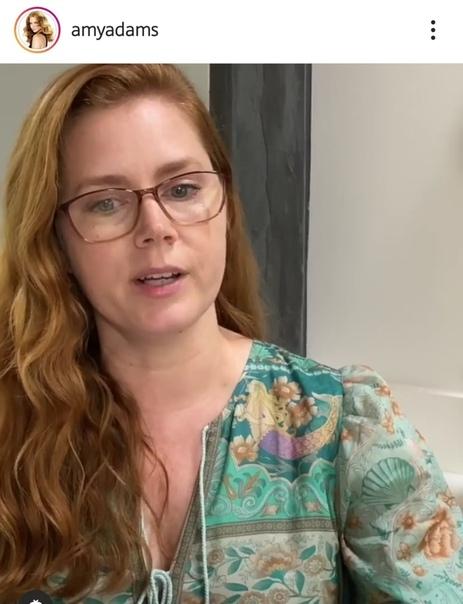 Эми Адамс завела аккаунт в инстаграме