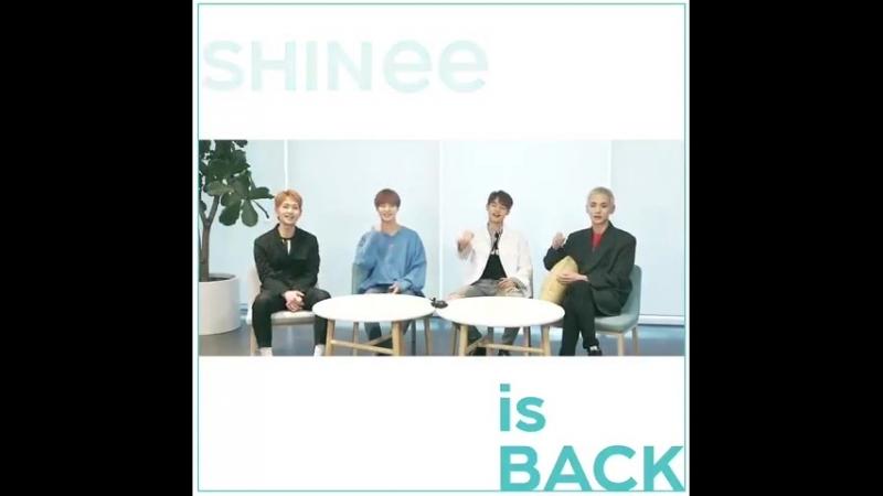 2018.05.25 빛나는 샤이니의 데뷔 10주년 - 10주년을 맞은 그들이 전하는 이야기! - Coming Soon. - - SHINee10thAnniversa