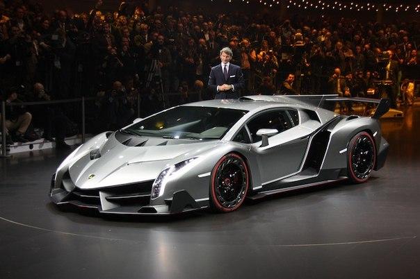 Суперкар Lamborghini Veneno: Женевский автосалон 2013