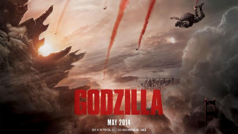 Godzilla - 2014 (Gareth Edwards) Аудиовизуальное повествование в трёх сценах.