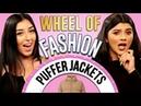 PUFFER JACKETS Challenge! Wheel of Fashion w/ Shany Eileen