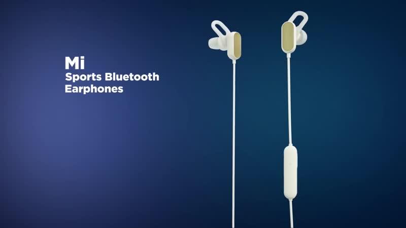 Промо Видео наушников Mi Sports Bluetooth Earphones Basic